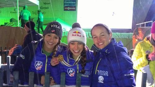 Jessica Jerome, Sarah Hendrickson and Lindsey Van