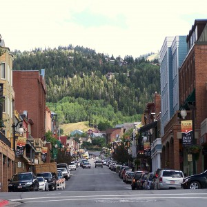 Picture of Main Street in Park City Utah near Deer Valley Utah