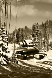 Picture of Empire Lift and Empire Canyon Lodge at Deer Valley
