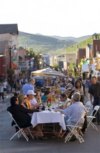 Park City's Largest Dinner Party
