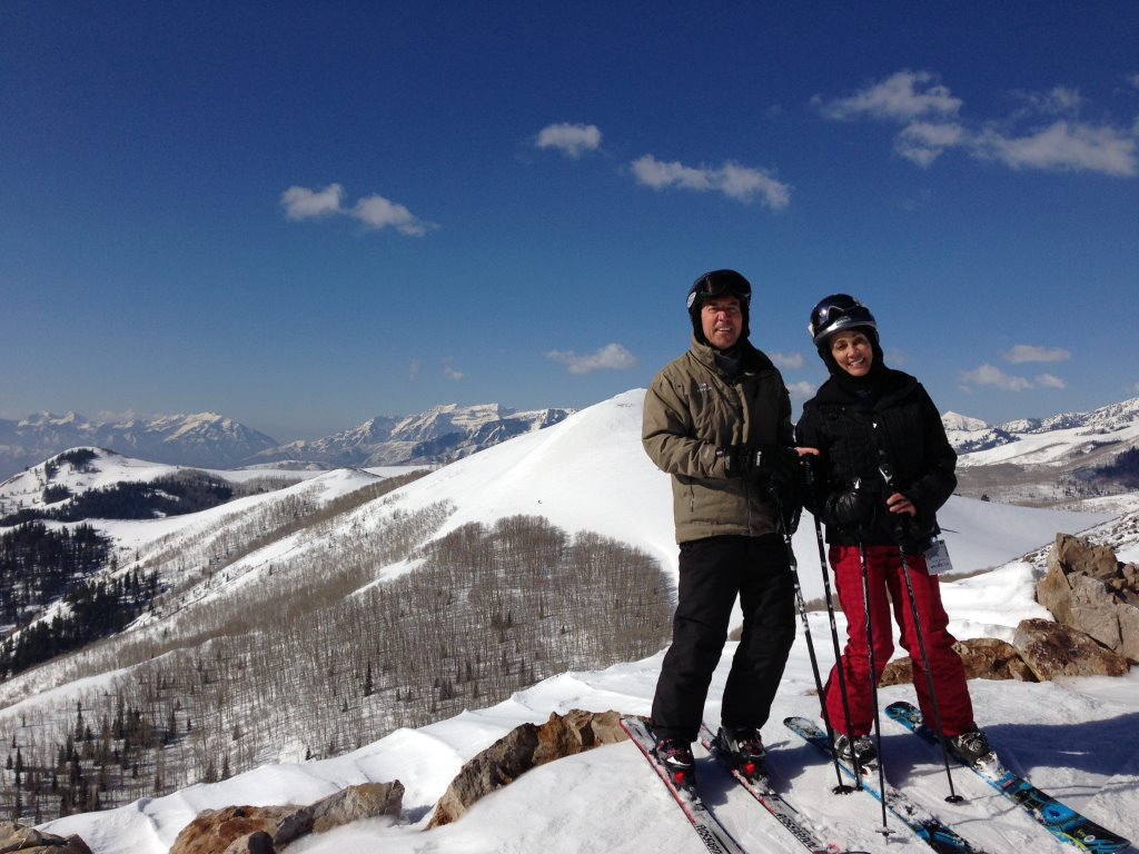 Enjoying Spring Skiing at Deer Valley Resort