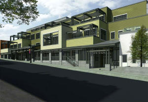 Architect's rendering of the new Main Street façade of 333 Main. Courtesy of The Park Record.
