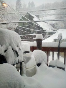 snow in Park City
