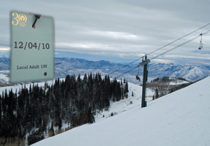Deer Valley Resort opened December 4, 2010