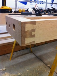 Finished End Cap Dovetail