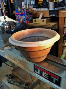Finished Segmented Bowl