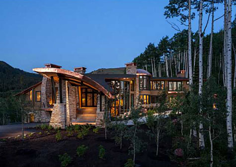 luxury estate in the Colony in Park City, Utah
