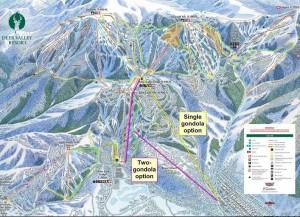 Deer Valley gondola plan