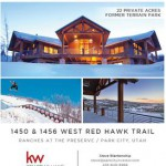Red Hawk Trail Absolute Auction Park City Utah Real Estate for Sale