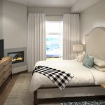 Blackstone Residences Condos for Sale at Canyons Village - Bedroom - Alpine Floorplan