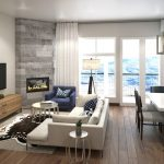 Blackstone Residences Condos for Sale - Living Room - Alpine Floorplan