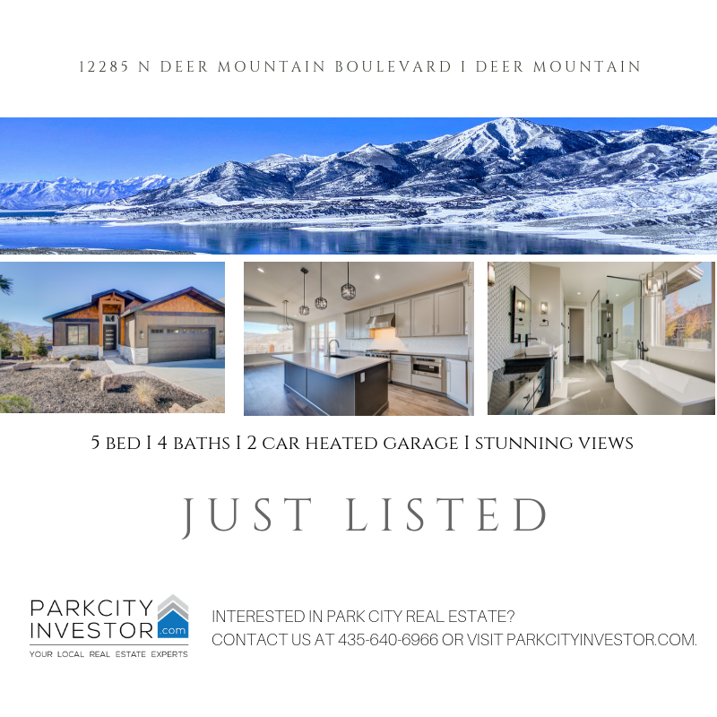 Homes for sale in deer mountain utah