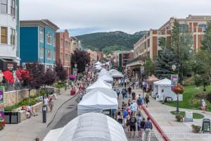Arts Festival up Historic Main Street - Park City