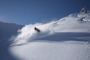 matt wolfe, canyons, fresh powder, deep, blue bird