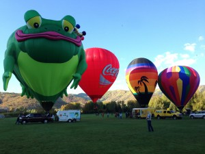 2014 Park City,  Utah Balloon Festival.