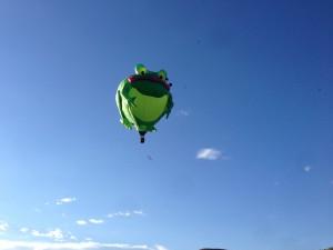 Frog Aloft 2014 Park City, UT Baloon Festival