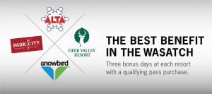 Season Pass Specials at Alta, Deer Valley, Park City Mountain Resort and Snowbird
