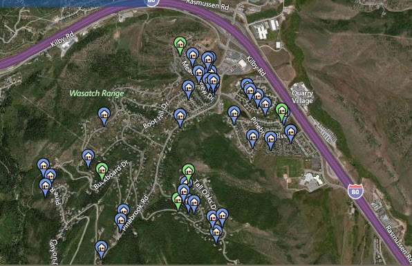 Pinebrook Homes and Condos For Sale | Park City, Utah